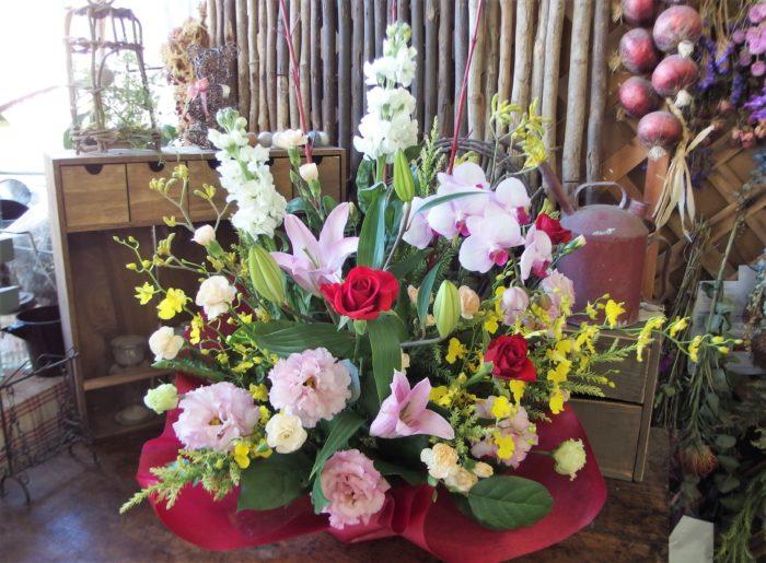 40代以降の方へ贈るお花