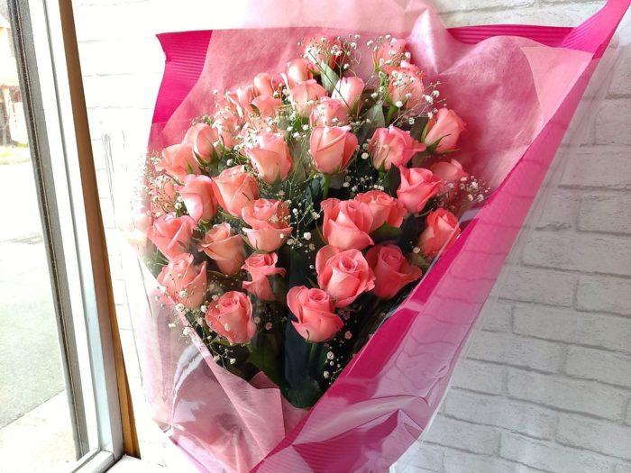 愛情いっぱいの花束