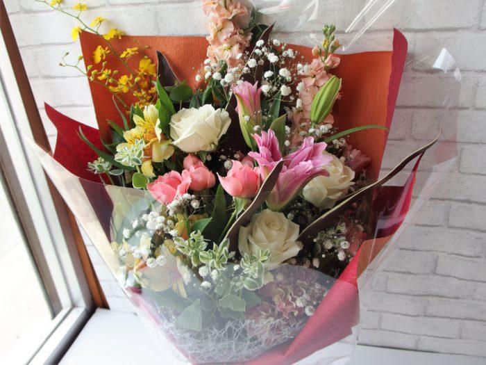 退職祝いの豪華花束